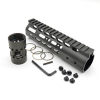 7 '' Tactical Охота AR Keymod сплав стрелковой NSR Карабин Weaver / Picatinny Quad Rail Free Float Handguard Rail Система Tactical аксессуары