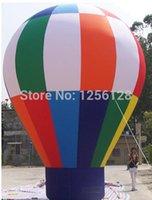 ingrosso grandi palloncini pubblicitari-Grandi palloni gonfiabili stanti di pubblicità di pubblicità / mongolfiera gonfiabile per le pubblicità