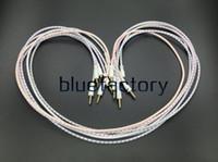 usb-lautsprecher-buchsen großhandel-3,5 mm AUX Auto Erweiterung Audio Kabel Woven Hilfs Stereo Jack Draht für iPhone 7 Samsung S7 S6 Rand Lautsprecher Computer Ipad MP3