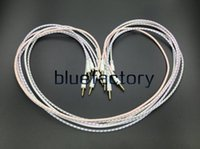teje la extensión al por mayor-3.5mm Aux Car Extention Cable de audio tejido Auxiliar Jack estéreo para iphone 7 Samsung S7 S6 Edge Altavoz Ordenador ipad MP3