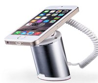Wholesale Cell Phone Holder Alarm - New Style Silver Color Mobile Phone Security Display Alarm Stand Holder