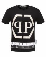 Wholesale Punk Style T Shirt - Free shipping 2017 autumn new men's tshirt round neck t-shirt fahsion t-shirt punk style t-shirt size m-3xl