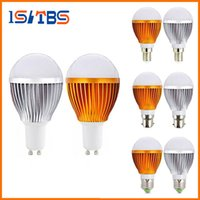 DHL LIVRAISON GRATUITE Cree 9W 12W 15W Led globe bulbe E27 E14 GU10 B22 85-265V LED Bubble Ball lampe led éclairage