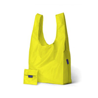 Wholesale Handbag Tote Purse Folding - Tote Bags Candy Colors Reusable Shopping Bag Portable Folding Pouch Lunch Bag Purse Handbag Enviorment Safe Go Green