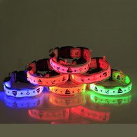 8 couleurs LED Leopard Collar pour les chiens Walking Night Safe Clear pour voir le produit de haute qualité Electrified Pet Product Supplier
