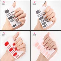 Wholesale New Colorful Stickers - New Arrival BIOAQUA Nail Art Stickers Bright Colorful Manicure DIY Decration Nai Tool Waterproof Temporary Tatttoos Free Shipping