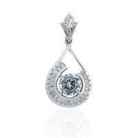 pendant necklaces asian u0026 east indian womenu0027s rare womenu0027s bridal jewelry 18k gold plated perfect cut
