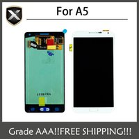 Grade AAA + per Samsung Galaxy A5 Display LCD A500 A5000 Con tocco ScreenFree Spedizione
