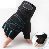 Wholesale grey lifts - M-XL Gym Gloves Heavyweight Sports Exercise Weight Lifting Gloves Body Building Training Sport Fitness Gloves
