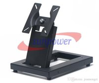Wholesale Universal Mount Tv - Universal 14-24 Inch LCD LED Monitor Flat TV Wall Mount Stand Bracket VESA 75 100mm by FEDEX IE