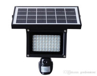 Wholesale Solar Video Security Camera - Solar Lamp 720P Hidden DVR Camera Card 40pcs LED Floodlight PIR Motion Detection Recording Video HD CCTV Security