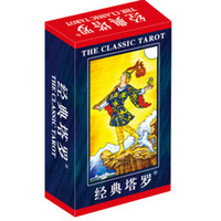"Wholesale international cards - Wholesale- 2 Kinds Option ""Classic Tarot"" Board Game 78 PCS Set Boxed Playing Card Tarot Board Game For Family Friends With Free Shipping"