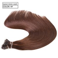 Neitsi New Arrival 20 '' Straight Nano Ring Beads Human Hair Extension 50g / lot 1g / s Pre bonded Nano Ring Tip Remy Hair