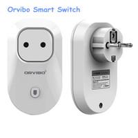 drahtloser netzstecker großhandel-Orvibo S20 WiFi Smart-Steckdose Smart-Netzstecker EU, US, UK, AU Standard-Steckdose Mobiltelefon Drahtlose Fernbedienung Automatisierung von Haushaltsgeräten