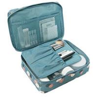 Wholesale Transparent Toiletry Bags - luxury transparent makeup bag beauty toiletry wash bag clutch purse boutique wholesale