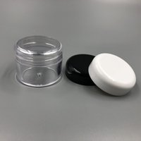 Wholesale Small Travel Jars - 30ML Clear Plastic Cosmetic Sample Container 30G Jar Pot Small Empty Camping Travel Eyeshadow Face Cream Lip Balm 30ML Bottle
