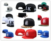 Wholesale Lk Leather - Cheap Hot Last Kings Leather Snapback hats white lastking LK Designer Brand mens women baseball caps hip-hop street caps Free Shipping DD