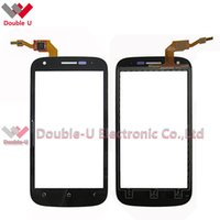 Wholesale Micromax Screen Glass - 5pcs lot NEW black For Micromax A88 Canvas Doodle A111 Canvas Beat A114R Touch Screen Glass Digitizer Panel Replacement with Free Shipping