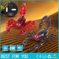 Trick Electronic Pet RC Simulazione Scorpion Robotic Insect Prank Toys Beetle Telecomando Smart Animal Modello Bambino Regalo per adulti