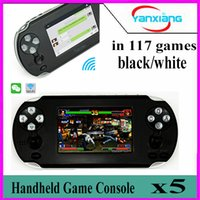 Wholesale Android Touch Screen Game Console - 5pcs Hot sale! 2017 NEW 3.5 Inch Android Handheld Game Console Support for PSP Games Wi-Fi with Touch Screen For 1080P HDMI Output YX-TU-2
