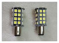 luzes traseiras conduzidas para carros venda por atacado-T20 / 1156/1157/7443 W21 / 5W 40 SMD 2835 LED Vermelho Branco Cauda Do Carro Lâmpada 21/5 W Luzes de Freio auto Lâmpadas de Nevoeiro Turn Signals branco vermelho amarelo 12 V