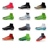 Wholesale Men Acc - Mens Mercurial Superfly CR7 Vitorias V FG Men Football Boots Ronaldo Magista Obra II ACC Soccer Shoes