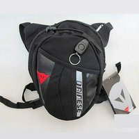 Wholesale Outdoor Riding Bag Waterproof Nylon Travel Camping Bag Men Black Drop Leg Motorcycle Cycling Fanny Pack Waist Belt Bag