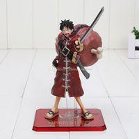 Wholesale One Piece Anime Film Z - Free Shipping New 15cm Anime One Piece Film Z Monkey D Luffy PVC Action Figure Colletiion Model Toy