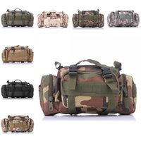 Wholesale Carry Golf Bags - 3P Tactical Waist Bag 15L Deployment Bag Versatile Tactical Waist Pack Hand Carry Camping Military Style 9 Color Free DHL E598L