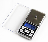 bijoux mini lcd balance de poche achat en gros de-Mini balance de poche électronique 200g 0.01g Bijoux Balance de diamant Balance Balance Balance Display LCD avec la vente au détail