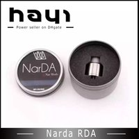 Wholesale Nipple Adjustable - Narda rda Clone atomizer 22mm Rebuildable Vaporizer 510 thread Adjustable airflow control vs Nipple RDA Fit Box mod DHL free