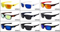 Wholesale Color Bicycle - Brand summer men Bicycle Glass driving sunglasses cycling glasses women and man nice glasses goggles 9colors 1079 A+++ free shipping