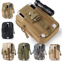 Wholesale Pouch Manufacturers - manufacturer sale Outdoor Camping Climbing Bag Tactical Molle Hip (Multi-function Bags Waist Belt Wallet Pouch Purse Phone Case