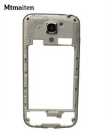 Wholesale Galaxy Volume Button - Middle Plate Frame Bezel housing with volume and Power button for Samsung Galaxy S4 mini I9190 I9192 I9195 Free shipping