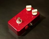 ko groihandel-TTONE Red Glitter Comp® Compressor E-Gitarren-Effektpedal China Made