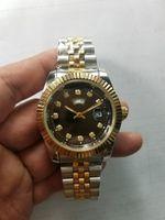 Wholesale Show Watches - Sapphire blue diamond relogio masculino women luxury brand simulation sports watch show the date of the quartz watch business women
