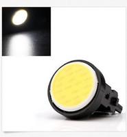led luzes de cauda preço venda por atacado-50 PCS T25 3157 Frio Branco 12SMD COB LED Reversa Parar Cauda BackUp Lâmpada LED preço de atacado