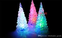 kristal ağaç dekor toptan satış-Pretty Yeni LED Lamba Işık Kristal Dekorasyon Benzersiz Güzel Ev Partisi Hediye Dekor Yılbaşı Noel Ağacı