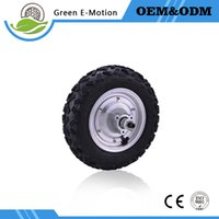 Wholesale electric scooter 24v for sale - Group buy high speed high quality inch electric wheel hub motor mm diameter V W W W W electric scooter bicycle cart motor