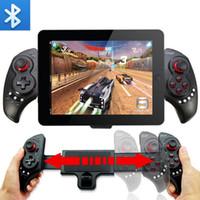 Wholesale Ipega Bluetooth Controller Ios - Gamepad iPEGA PG-9023 Telescopic Wireless Bluetooth Gaming Controller Joystick for Phone Pad Android IOS Tablet PC