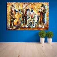 poster home decor wand dekorative bilder leinwand Spray malerei pop art cuadros quadro die Multi-bild Kombination Moderne