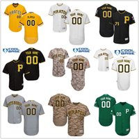 Wholesale Pittsburgh Pirates Authentic Jersey - Custom Pittsburgh Pirates jerseys Men Youth Women All Star 2017 Spring Authentic Stitched Personalized Baseball Jerseys Customized S-4XL