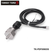 Wholesale 5v boost - Tansky -H G Universal 0.045-5V Copper material Electric Turbo Boost Pressure Gauge Meter Sender Sensor TK-PDF00603S