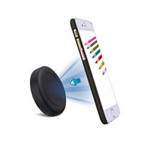ingrosso compressa extra sottile-Stick universale extra sottile CS01 su supporto per smartphone magnetico per cruscotto piatto per telefoni cellulari Mini tablet con Fast Swift