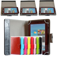 "Wholesale Galaxy Note Tablet Accessories - Universal 7"" 8"" 9"" 10"" inch tablet PC case Multicolor crystal lines PU leather cases with stand holder for ipad 2 3 4 air Samsung Tab 2016"