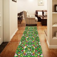 Wholesale Famous Animal Pictures - 85cm X 57cm green grass Wall Decal PVC Home Sticker House Vinyl Paper Decoration Wall Paper Living Room Bedroom Kitchen Art Picture DIY Kids