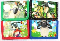 Wholesale Shaun Bag - Hot ! 12 pcs Shaun the Sheep coin Wallets purses gift bags Children's gifts
