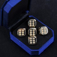 Wholesale Copper Dice - Handmade Polished Vintage Pure Copper 11.5mm Dice Brass Originality Decorative Dices Collection Bar Supplies Good Price High Quality #S34