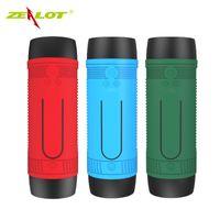 Wholesale Bluetooth Mini Speaker Water - Bicycle Speaker Bluetooth Bike Vibration Powerful Portable Subwoofer Blutooth speakers Water Resistant Powerbank FM Radio