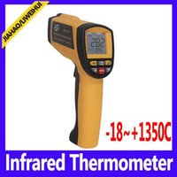 Wholesale Termometro Infrared - infrared temperature Laser IR Infrared Thermometer termometro Temperature Tester GM1350 Range -18~1350C
